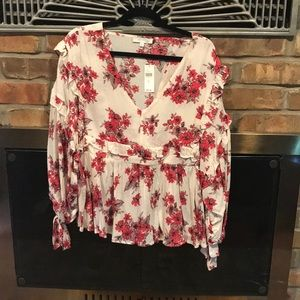 Boho Chic floral top